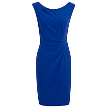 Buy Kaliko Crepe Tuck Dress, Blue Online at johnlewis.com