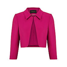 Buy Alexon Crepe Jacket, Peony Pink Online at johnlewis.com