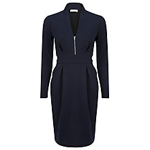 Buy Kaliko Ponte Dress, Dark Blue Online at johnlewis.com