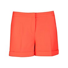 Buy Ted Baker Stretch Neon Shorts, Light Orange Online at johnlewis.com