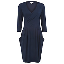 Buy Kaliko Scoop Neck Jersey Dress, Blue Online at johnlewis.com