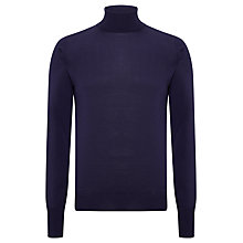 Buy John Smedley Richards Merino Roll Neck Jumper Online at johnlewis.com