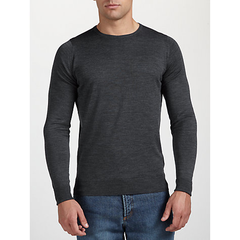 Buy John Smedley Hunter Crew Neck Online at johnlewis.com