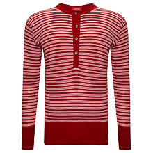 Buy John Smedley Signature Striped Wool Jumper Online at johnlewis.com