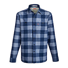 Buy Levi's Western Check Long Sleeve Shirt Online at johnlewis.com