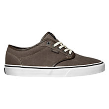 Buy Vans Atwood Trainers, Coffee/Blue Online at johnlewis.com