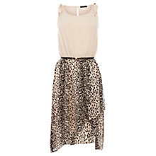Buy Oasis Animal Print Dress, Multi Online at johnlewis.com