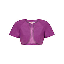 Buy Jacques Vert Short Sleeve Bolero, Iris Online at johnlewis.com