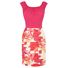Buy Coast Napoli Printed Dress, Multi Online at johnlewis.com