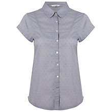 Buy White Stuff Marsh Shirt, Dream Blue Online at johnlewis.com