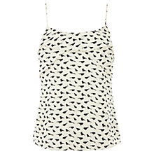 Buy Oasis Bird Print Camisole, Multi Online at johnlewis.com