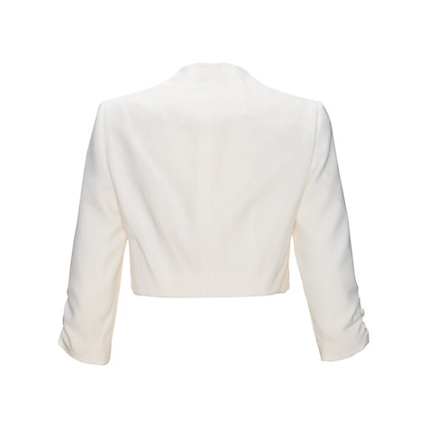 Buy Adrianna Papell Crepe Bolero Online at johnlewis.com