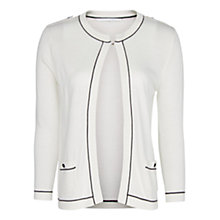Buy Mango Contrast Cardigan Online at johnlewis.com