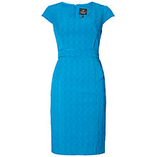 Buy Adrianna Papell Seamed Sheath Dress, Cobalt Online at johnlewis.com