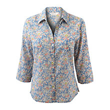 Buy East Alex Marisa Print Shirt, Soft Shale Online at johnlewis.com