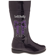 Buy Lelli Kelly Bailey Boots, Black Patent Online at johnlewis.com