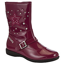 Buy Lelli Kelly Caitlen Boots, Purple Patent Online at johnlewis.com