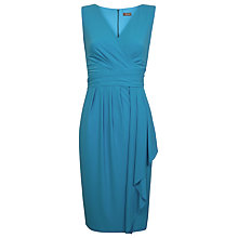 Buy Alexon Jersey Dress, Turquoise Online at johnlewis.com