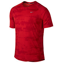 Buy Nike Miler Graphic Crew Neck T-Shirt Online at johnlewis.com