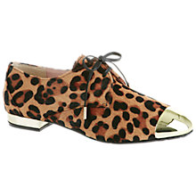 Buy Ted Baker Kape2 Brogue Shoes, Leopard Print Online at johnlewis.com