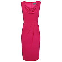 Buy Alexon Cowl Neck Jersey Dress, Pink Online at johnlewis.com
