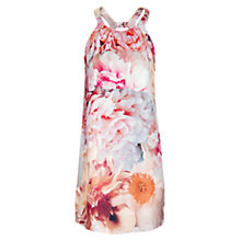 Buy Mango Halterneck Dress, Vintage Rose Online at johnlewis.com