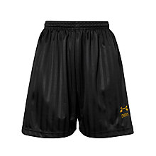 Buy Dame Alice Owens School Sports Shorts, Black Online at johnlewis.com