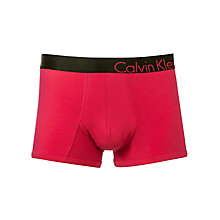 Buy Calvin Klein Underwear Bold Trunks, Pink Online at johnlewis.com