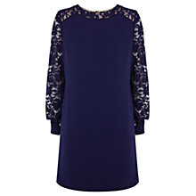 Buy Coast Shannon Dress, Navy Online at johnlewis.com