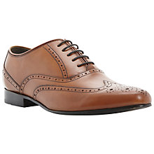 Buy Dune Activation Leather Brogue Oxford Shoes Online at johnlewis.com