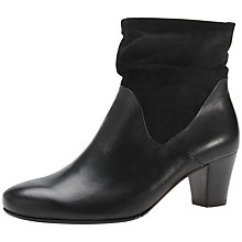 Buy Gabor Affair Ankle Boots, Black Online at johnlewis.com