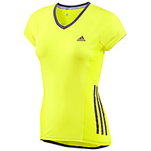 Buy Adidas Supernova Short Sleeve T-Shirt, Electricity Online at johnlewis.com