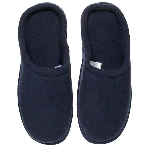 Buy John Lewis Fleece Washable Slippers Online at johnlewis.com