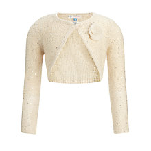 Buy John Lewis Girl Knitted Party Shrug Online at johnlewis.com