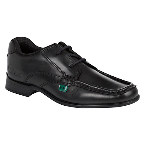 Buy Kickers Ferock Laced Shoes, Black Online at johnlewis.com
