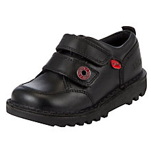 Buy Kickers Kick Racer Shoes, Black Online at johnlewis.com