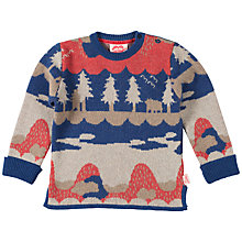 Buy Tootsa MacGinty New Forest Jacquard Jumper, Blue Online at johnlewis.com