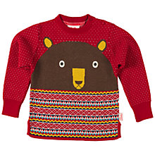 Buy Tootsa MacGinty Bear Knit Jumper, Multi Online at johnlewis.com
