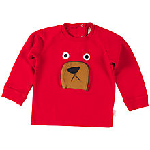 Buy Tootsa MacGinty Bear Sweatshirt, Red Online at johnlewis.com