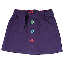 Buy Frugi Girls' Organic Cotton Corduroy Skirt, Purple Online at johnlewis.com