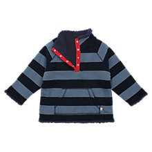 Buy Frugi Organic Cotton Reversible Fleece, Blue Online at johnlewis.com
