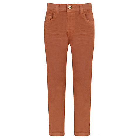 Buy Kin by John Lewis Boys' Colour Standard Fit Jeans, Ochre Online at johnlewis.com