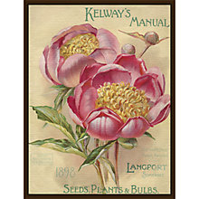 Buy Royal Horticultural Society, Kelway - Kelway's Manual, Plants Seeds & Bulbs Online at johnlewis.com