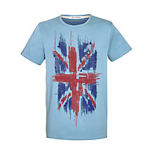 Buy Ben Sherman Faded Union Jack Crew Neck T-Shirt Online at johnlewis.com