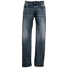 Buy Diesel Waykee Regular Tapered Jeans, Mutation Wash Online at johnlewis.com