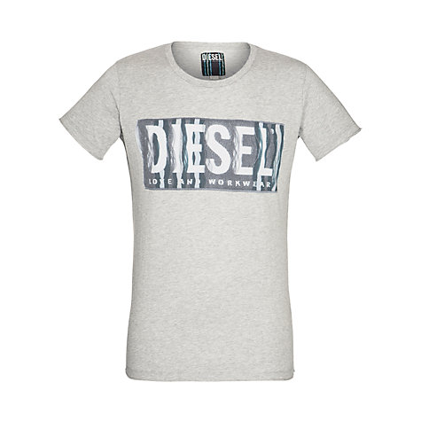 Buy Diesel Conopus T-Shirt, Grey Online at johnlewis.com