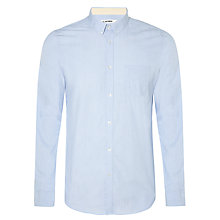 Buy Ben Sherman Chambray Cotton Shirt, Captain Blue Online at johnlewis.com