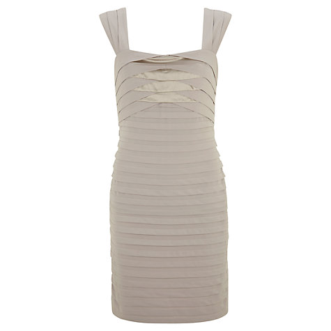 Buy Mint Velvet Bandage Dress, Mink Online at johnlewis.com