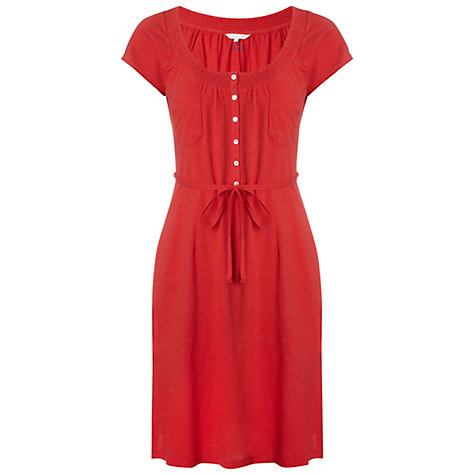 Buy White Stuff Time and Again Dress, Samurai Red Online at johnlewis.com