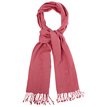 Buy White Stuff Fraya Plain Scarf, Sweet Sorbet Online at johnlewis.com